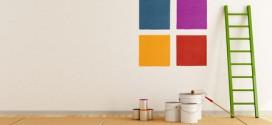 Viele Farben zum Zimmer streichen
