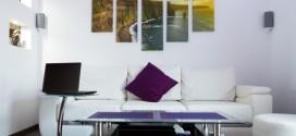 Mit schicken Leinwänden die Wohnung dekorieren