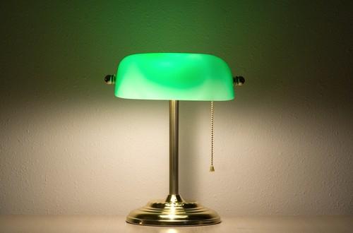 Schreibtischlampe im Retro Stil