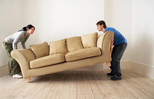Umzug - Wie soll das Sofa in die neue Wohnung