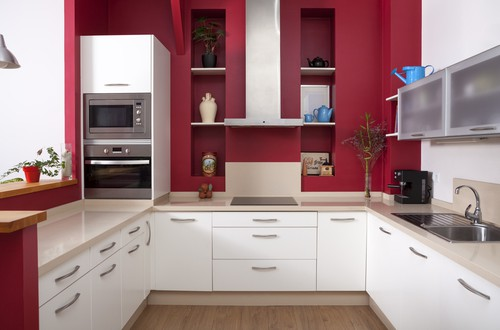 Küche optisch aufpolieren durch neue Farben