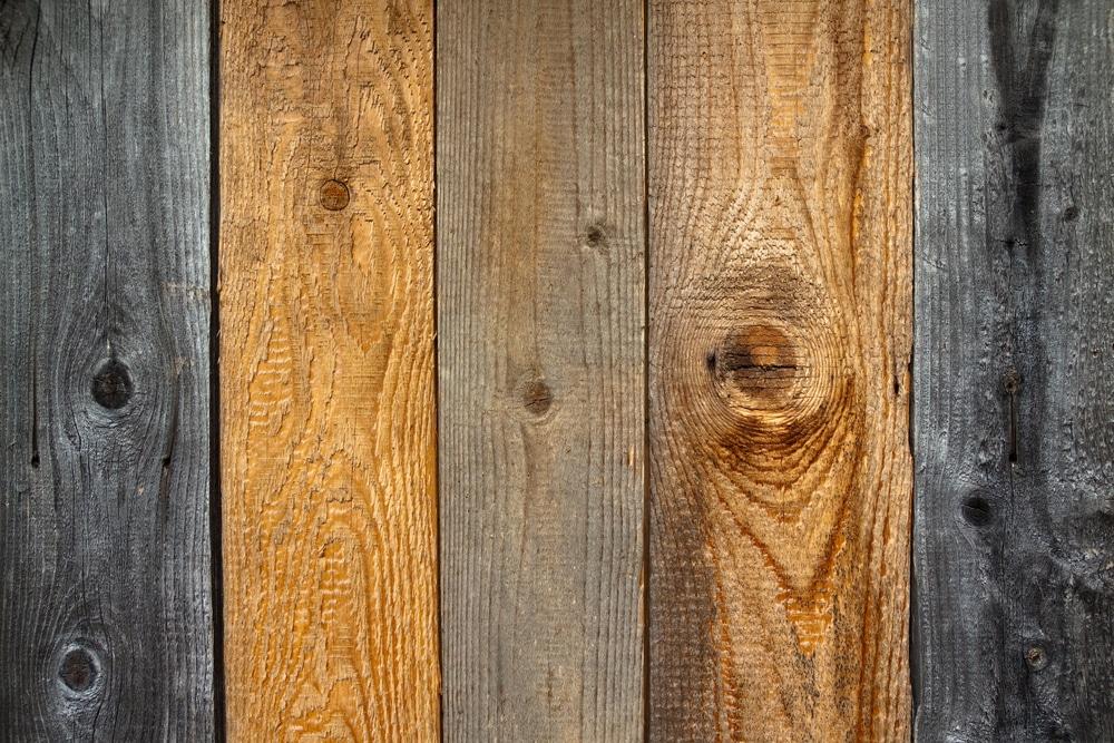 verschiedene Holzdielen