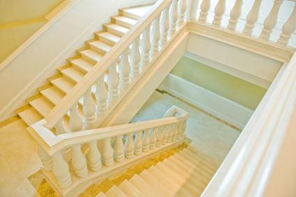 Eine Treppe renovieren