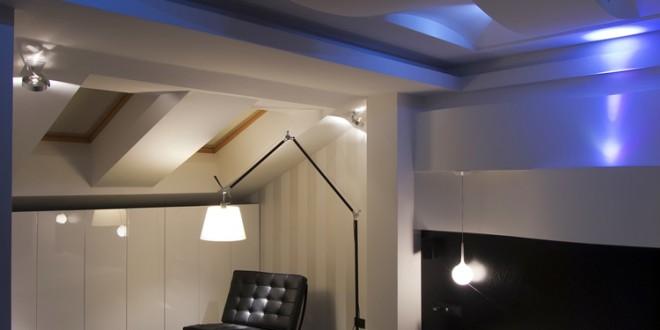 Effektvolle Badbeleuchtung mit LED