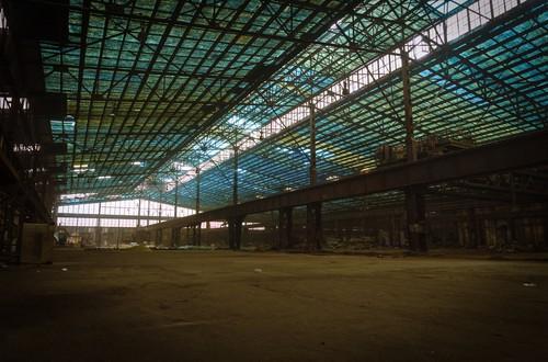 Bauvorhaben Lagerhalle