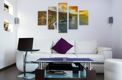 zimmer mit fotoleinwand dekorieren. Black Bedroom Furniture Sets. Home Design Ideas